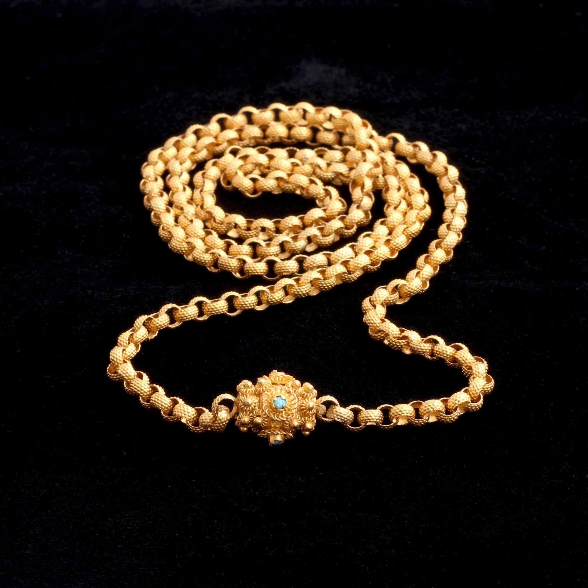 Georgian 22k Gold Chain