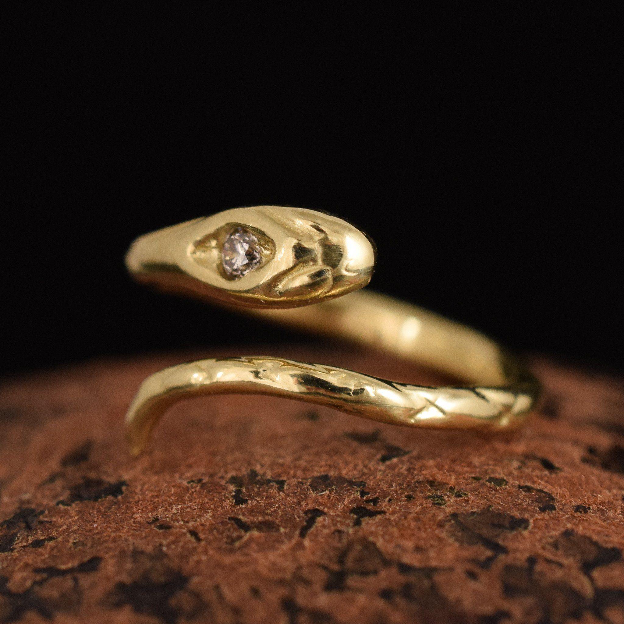 Serpent Midi Ring