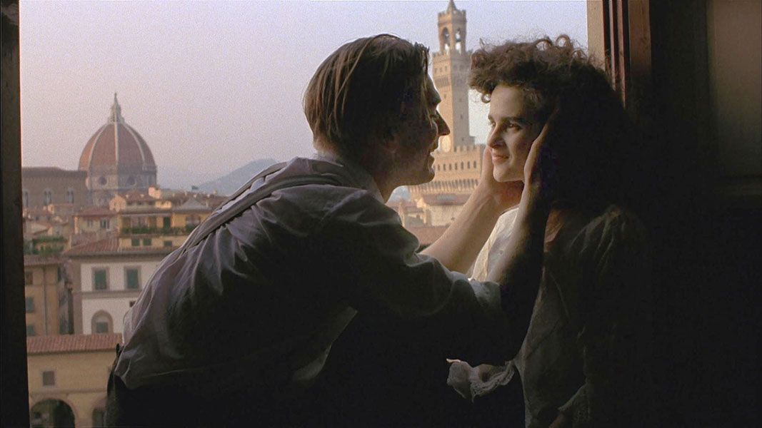 """Helena Bonham Carter in Merchant Ivory's 1985 movie """"A Room with a View."""""""