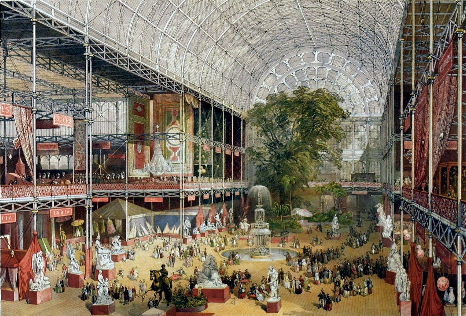 Illustration of the Great Exhibition of 1851.