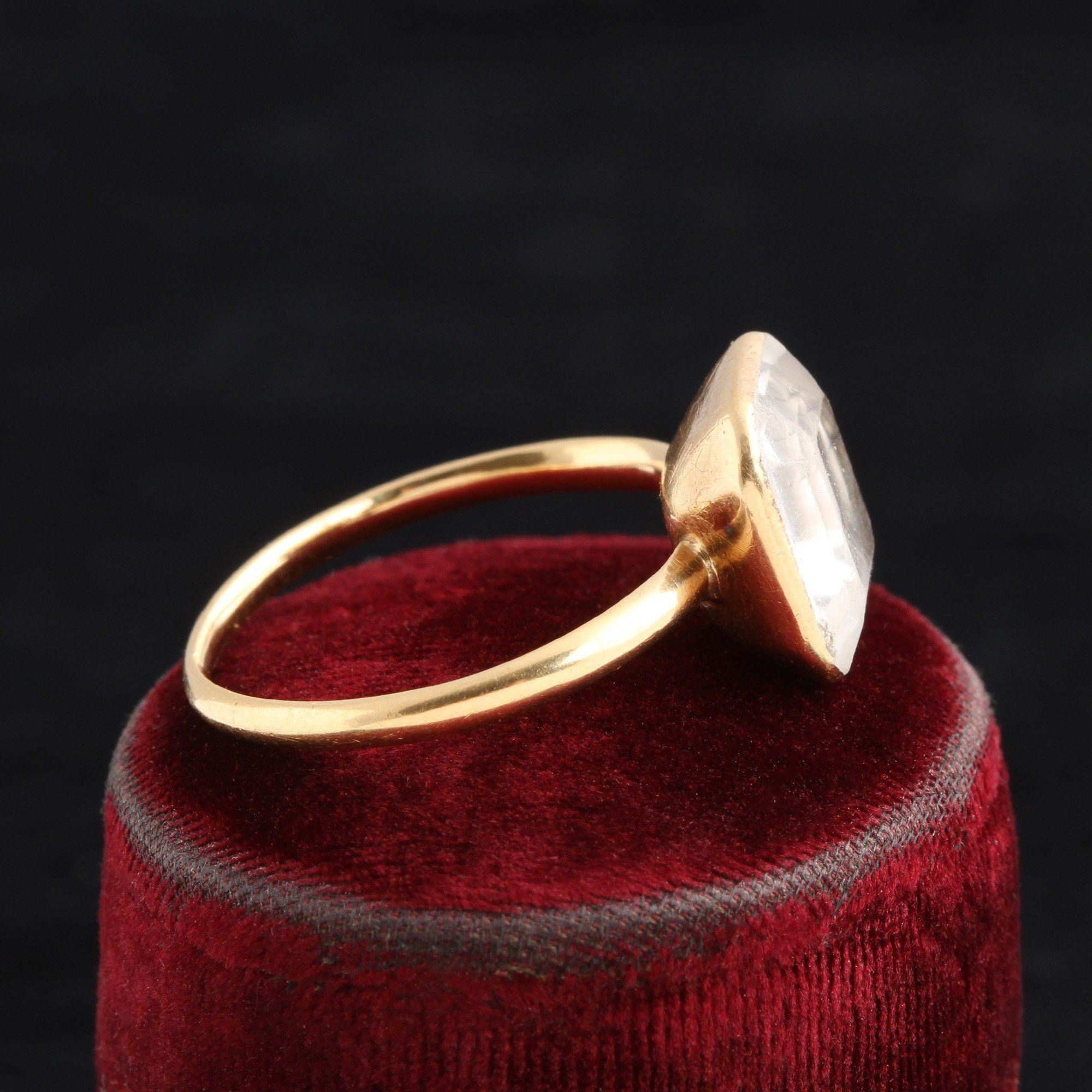 "Stuart Crystal ""IPCP"" Ring"