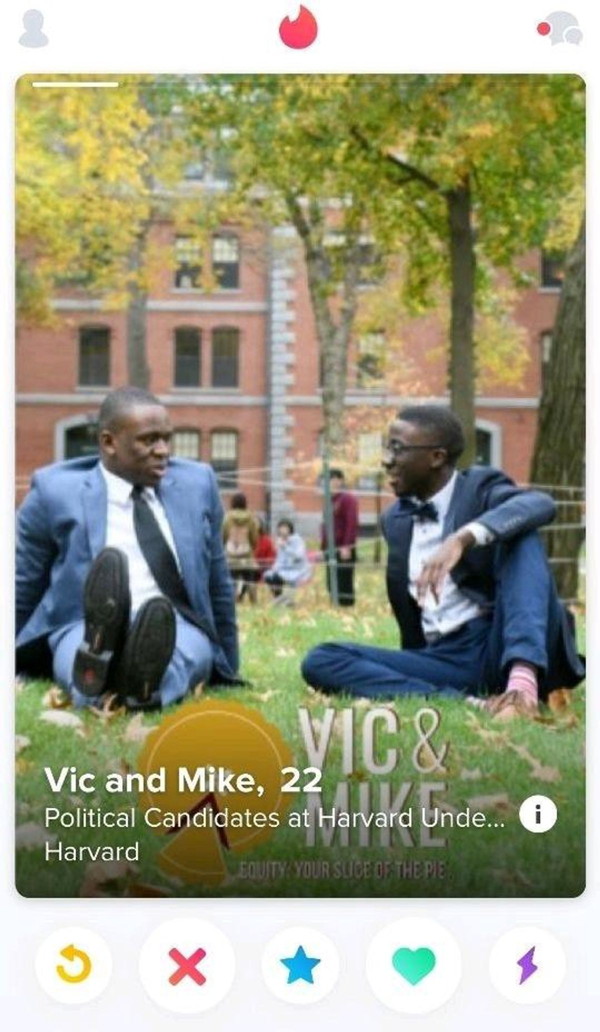 Agbafe and Bervell used Tinder to attract voters in this year's campaign.