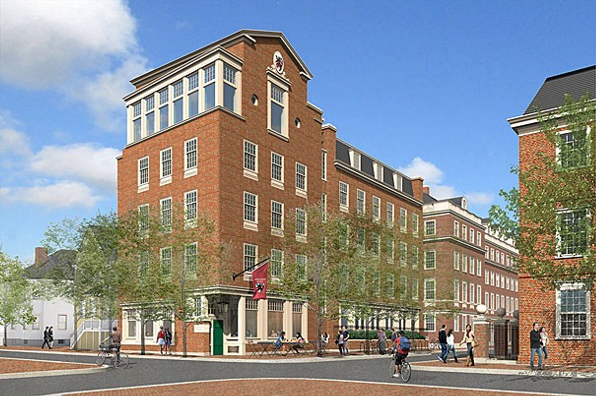 A rendering of the new Winthrop House. (Source)