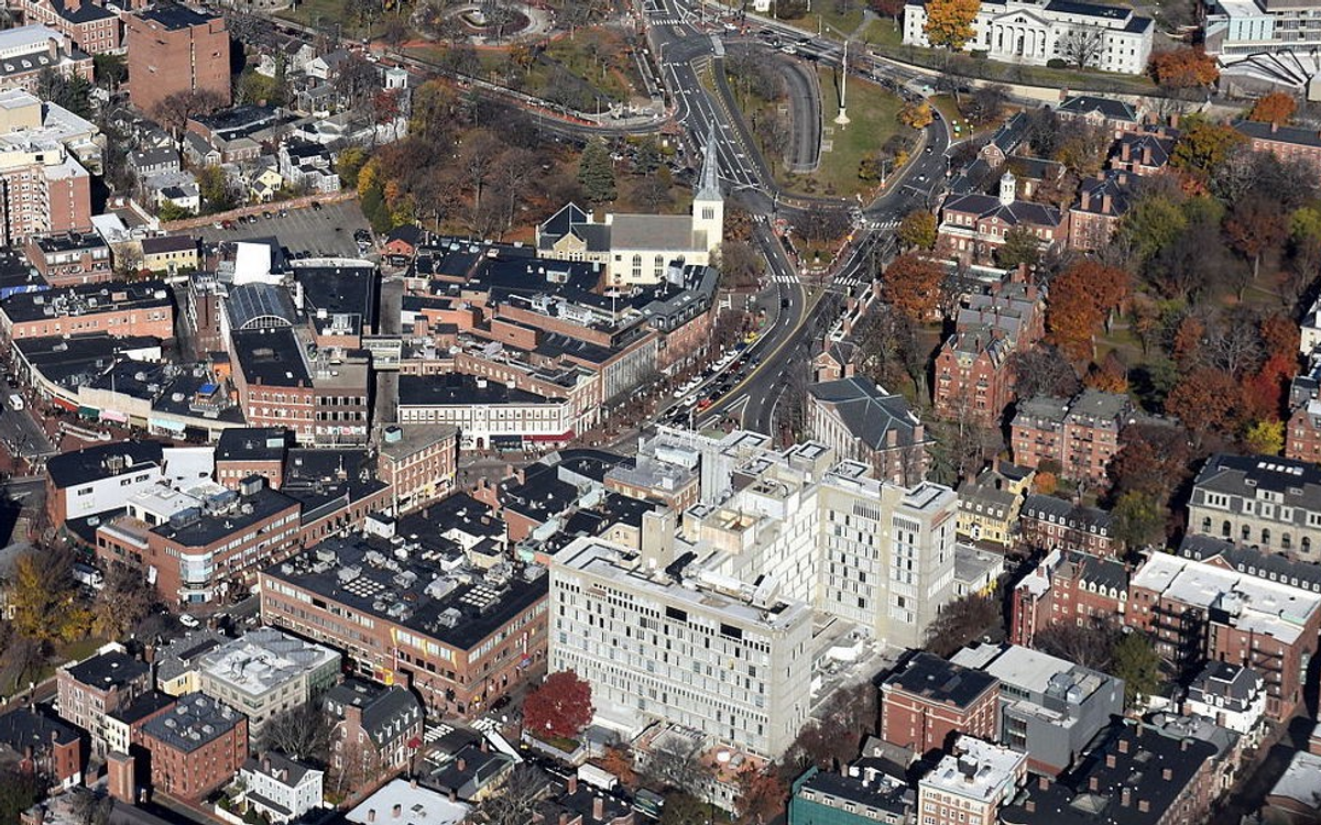 Harvard Square In 2015. [Photo: Nick Allen]