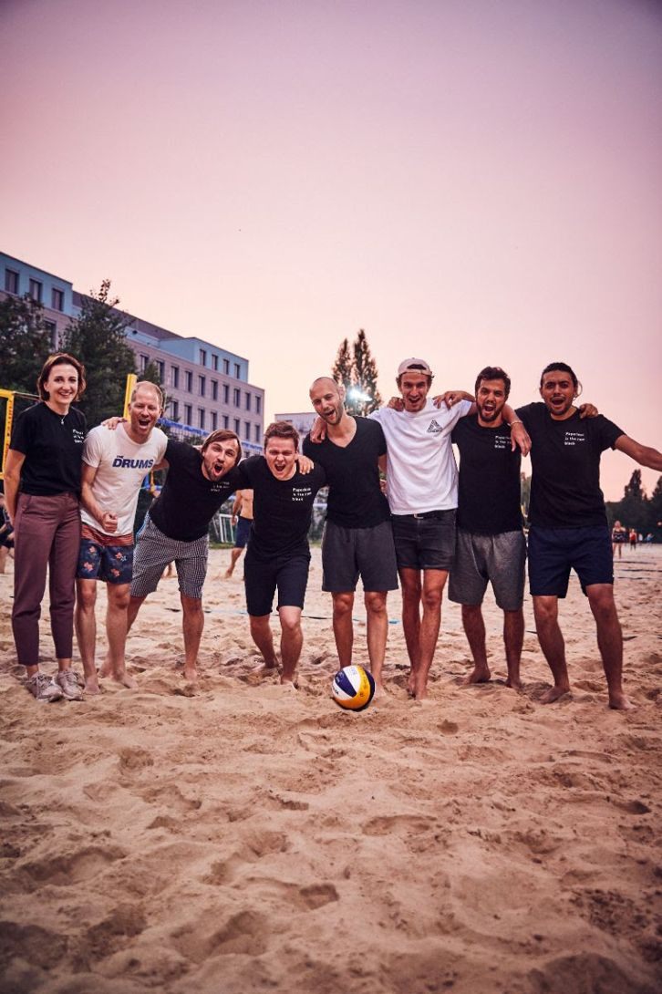 Team Beachvolleyball
