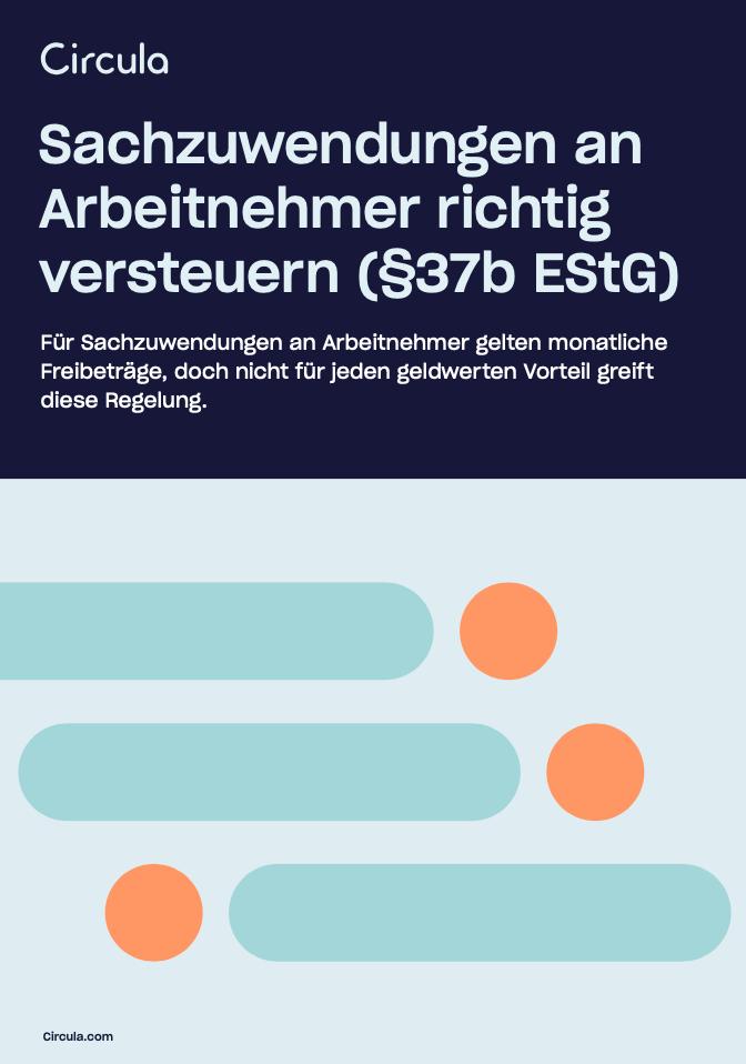 Sachzuwendungen an Arbeitnehmer richtig versteuern (§37b EStG)