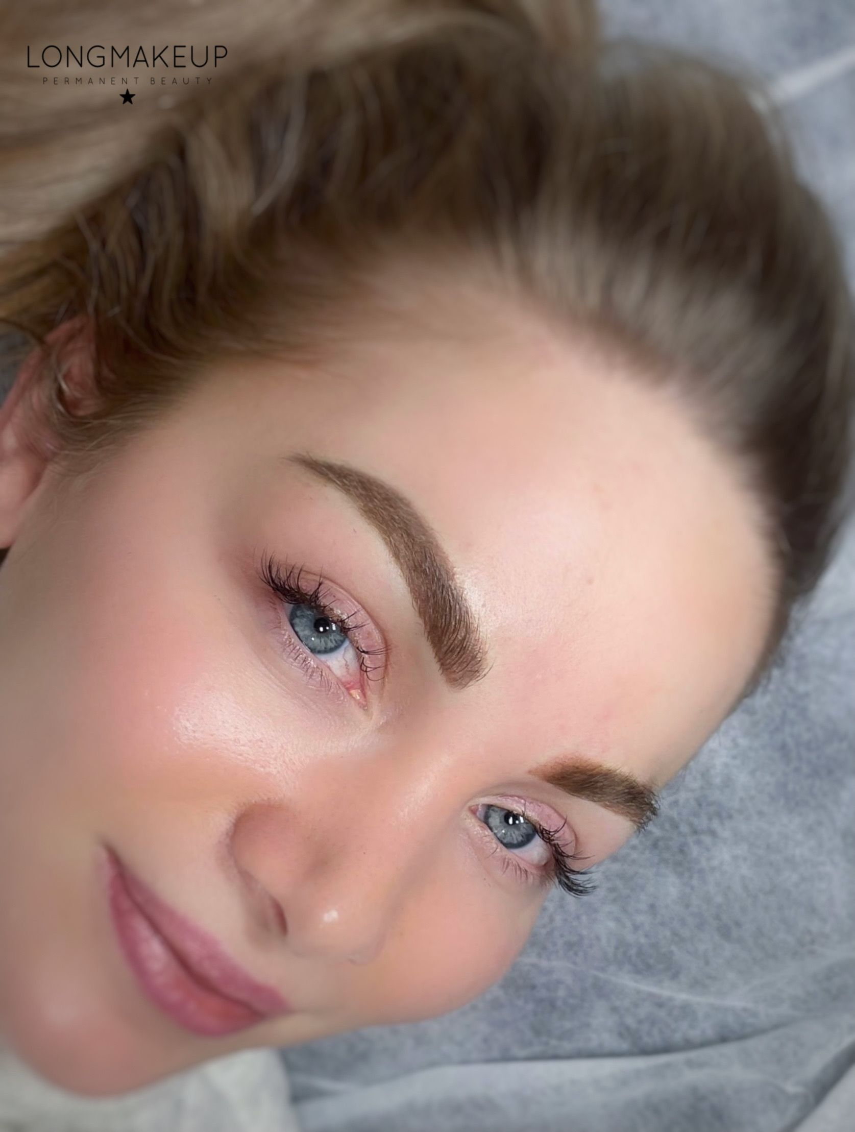 Powder Brows for blonde