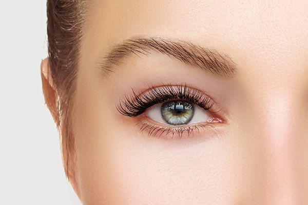 Eyebrow before permanent makeup