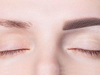 Ombre powder eyebrows nyc