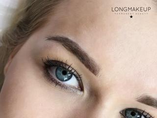 Ombre brows for blonde