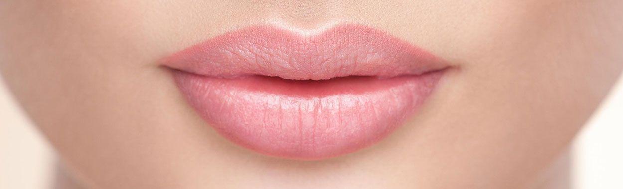 Ombre lip tattoo