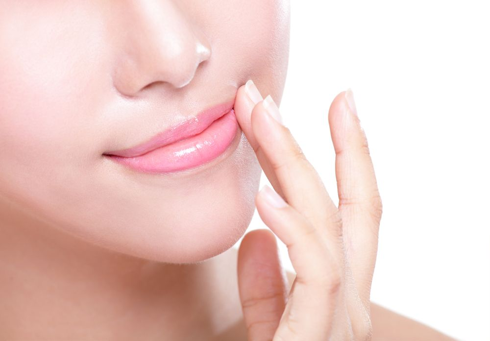 Lip blush healing