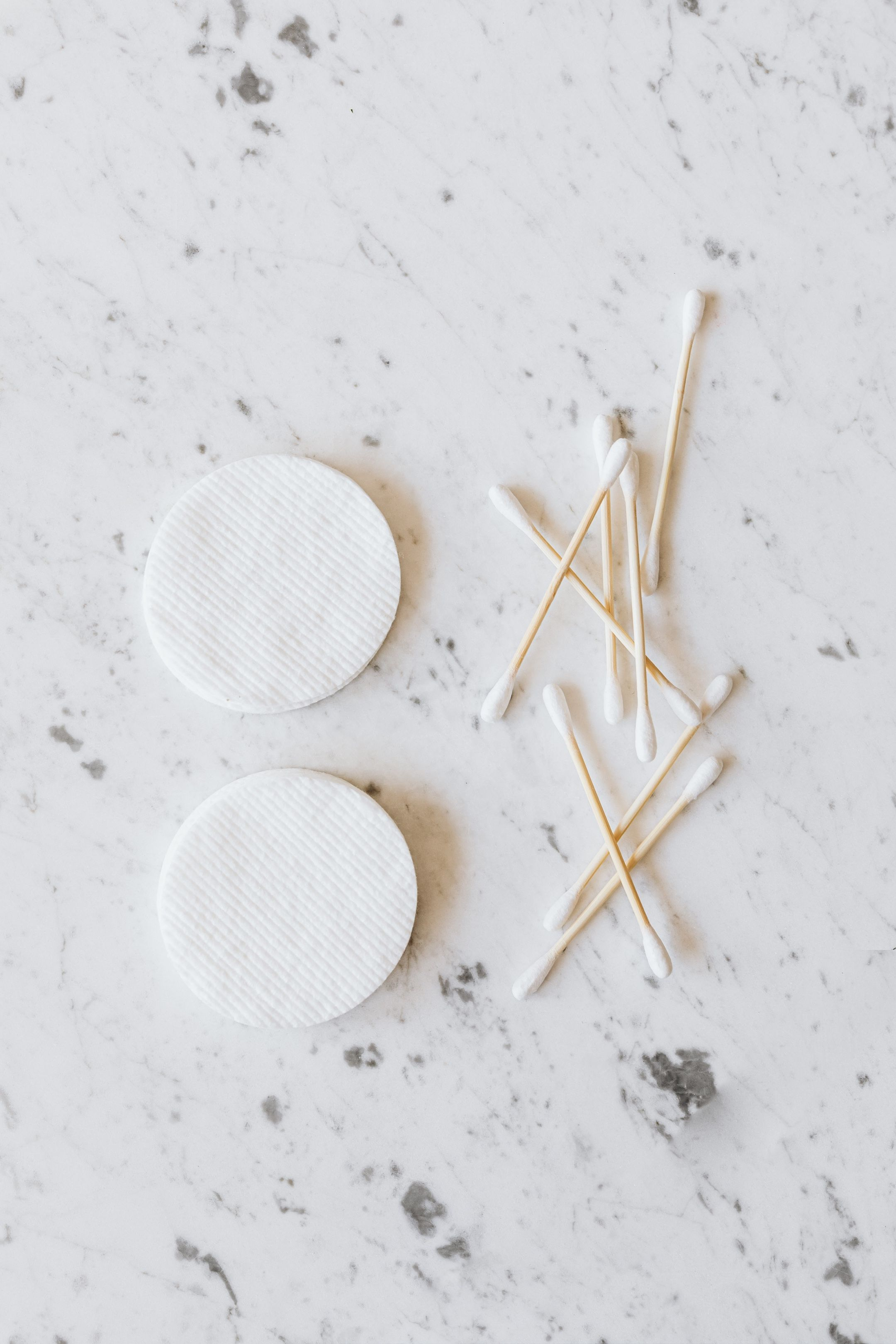 Cotton rounds and q-tips