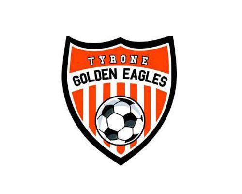 Tyrone Golden Eagles Soccer Logo