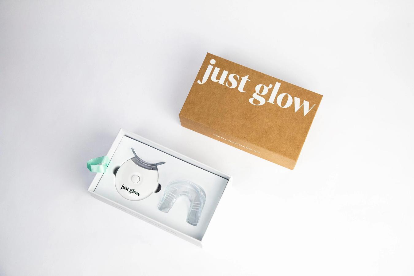 Just Glow Teeth Whitening Kit
