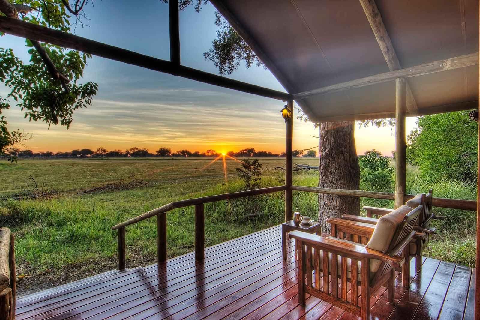 A remote Botswana Safari