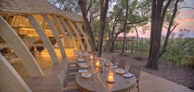 andBeyond Sandibe Safari Lodge