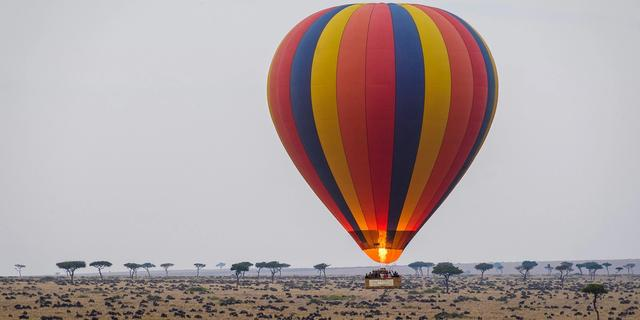Mara Luxury Hot Air Balloon Safari
