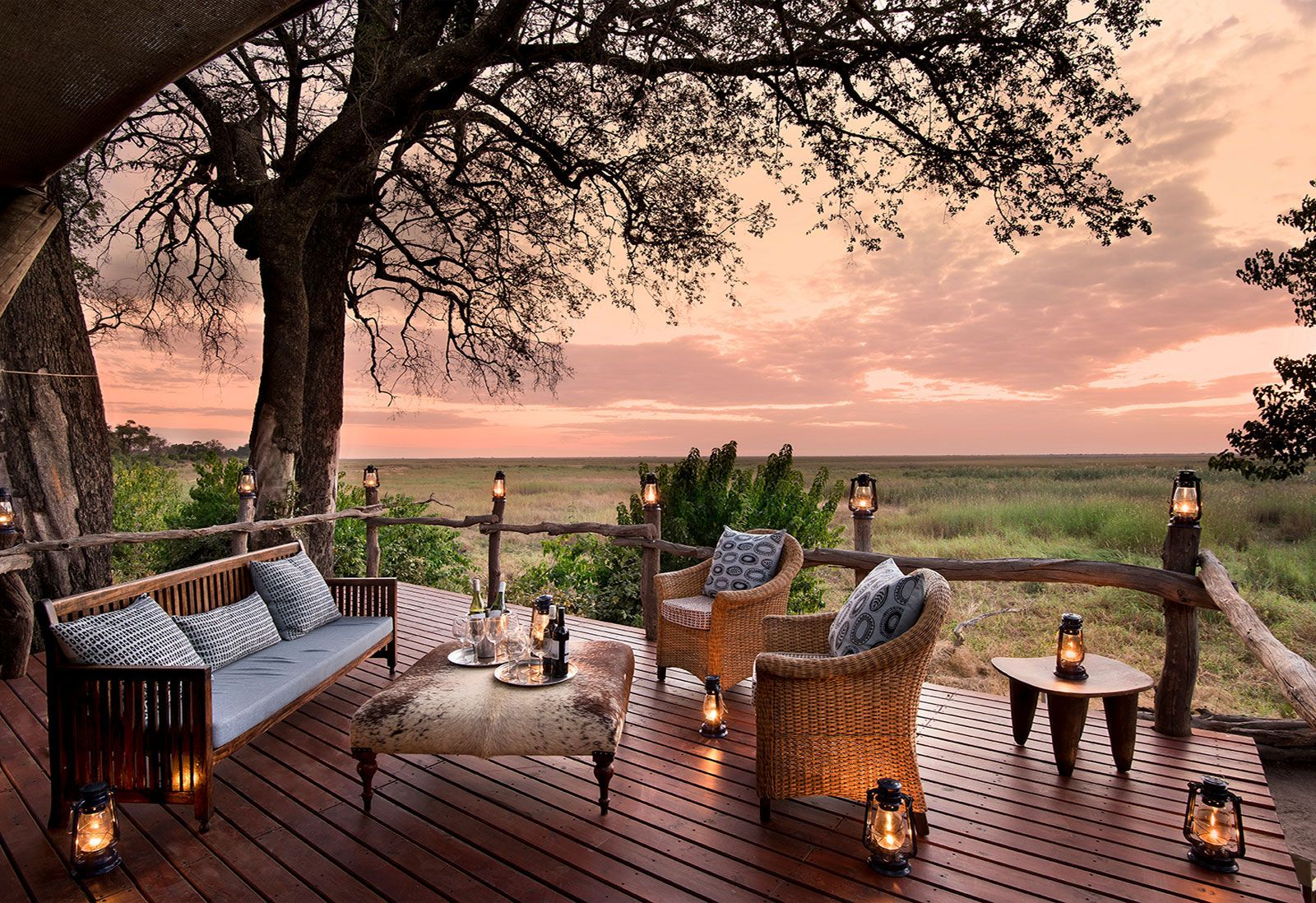 Visit Three Camps in Botswana