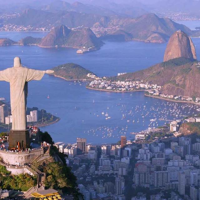 Rio and Iguazu Falls