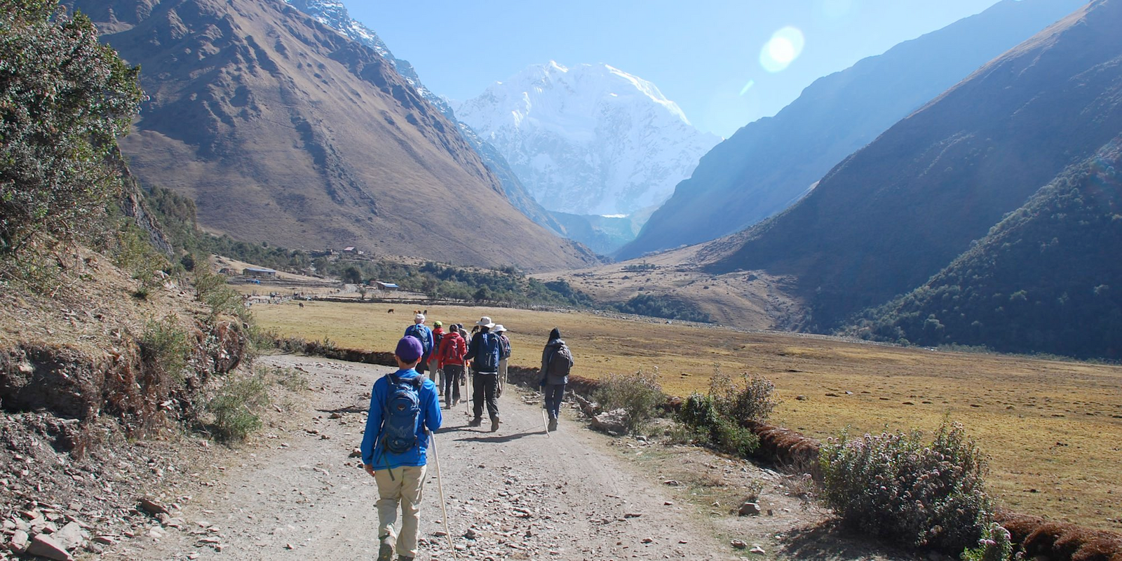 Glamping along the Inca Trail