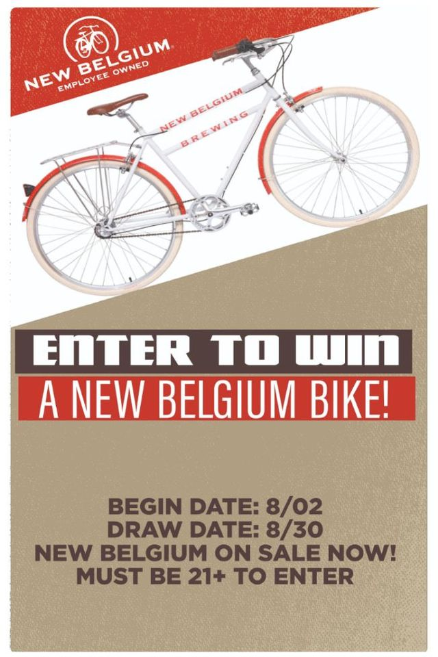Enter to in a New Belgium Bike!