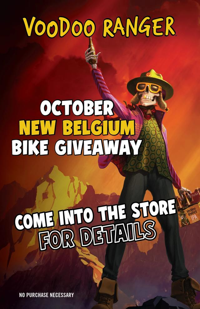Enter to win a bike from New Belgium!