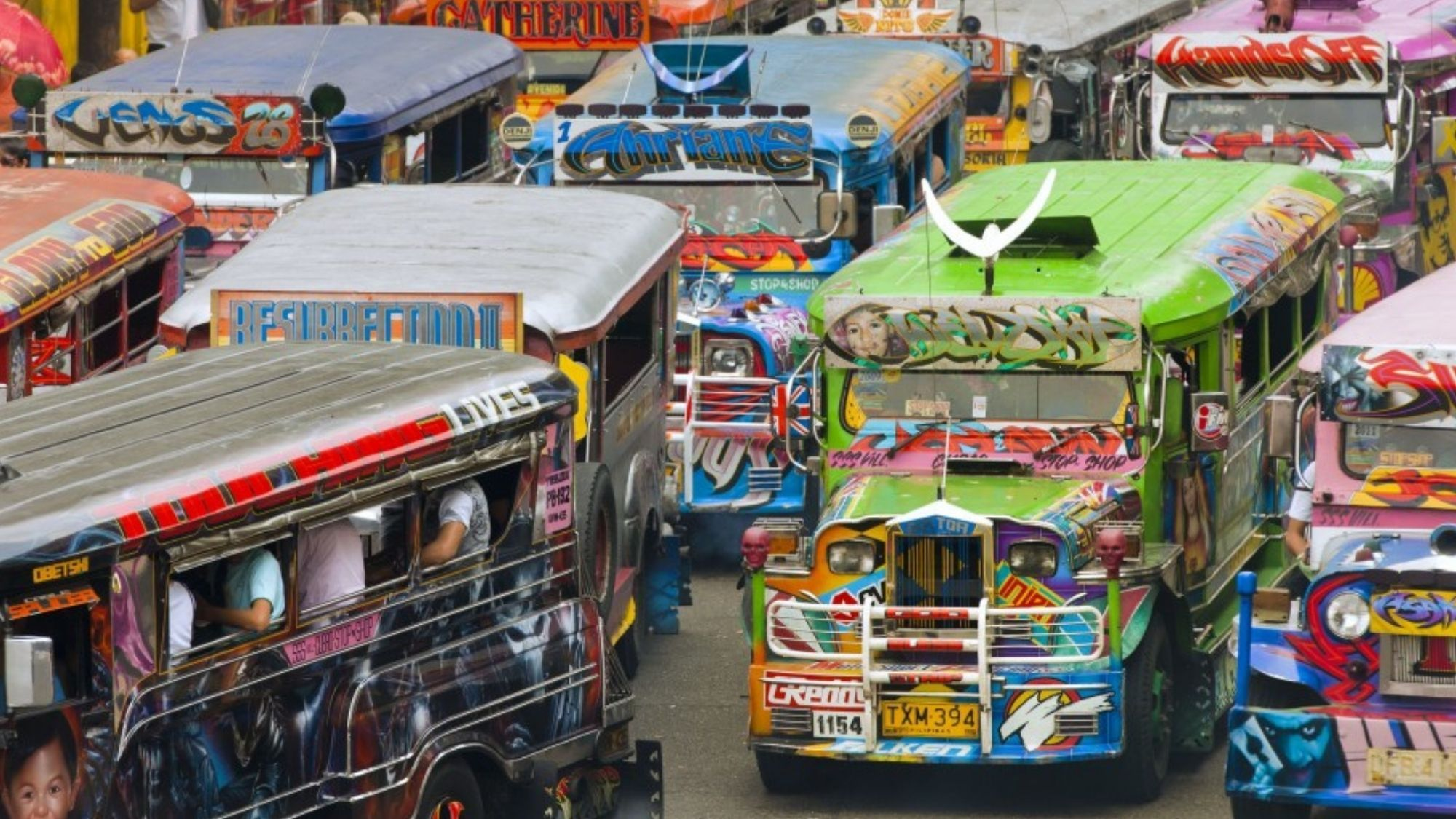Traditional Jeepneys