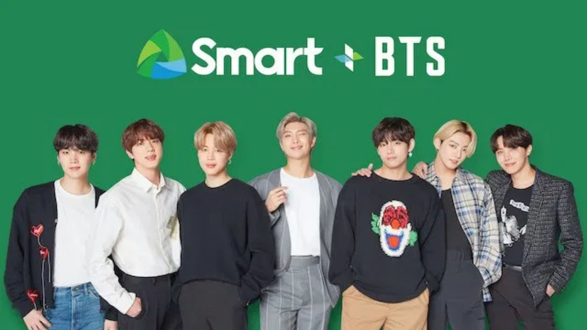 KPop sensation BTS is Smart's newest endorsers