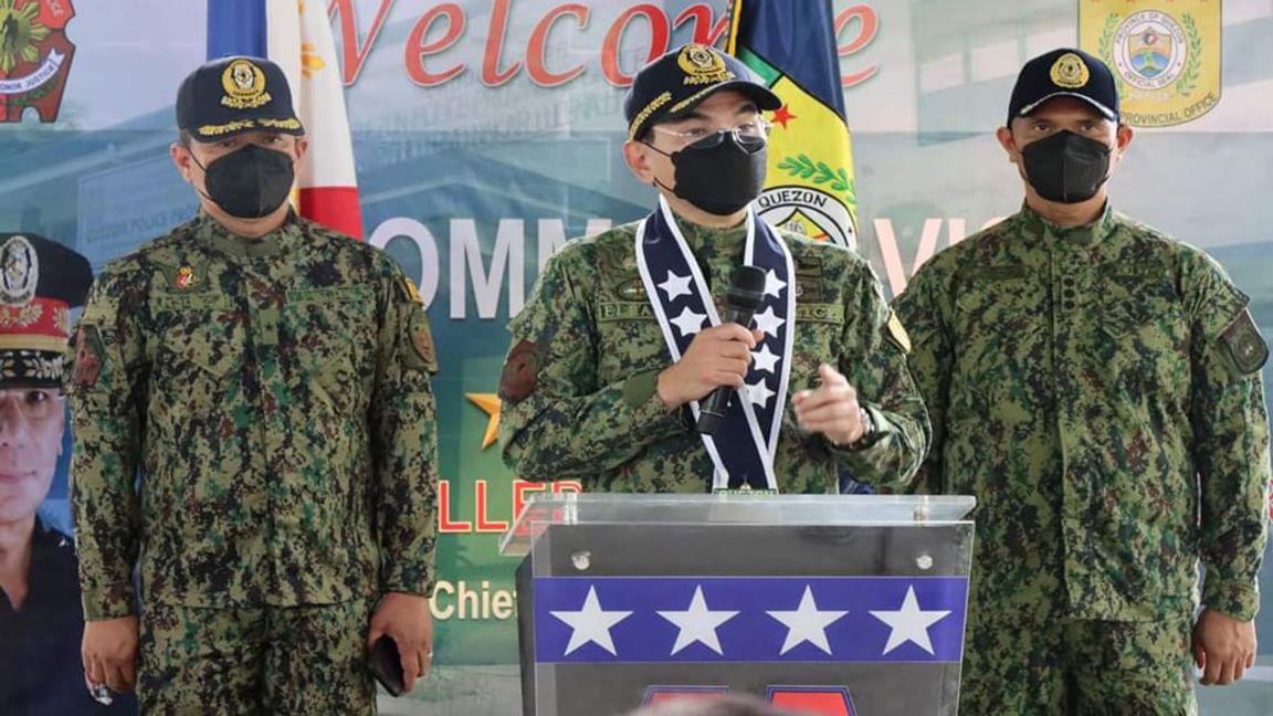 Homegrown PNP top man Eleazar visits Quezon; rejects calls to run for Senate photo Opinyon Quezonin