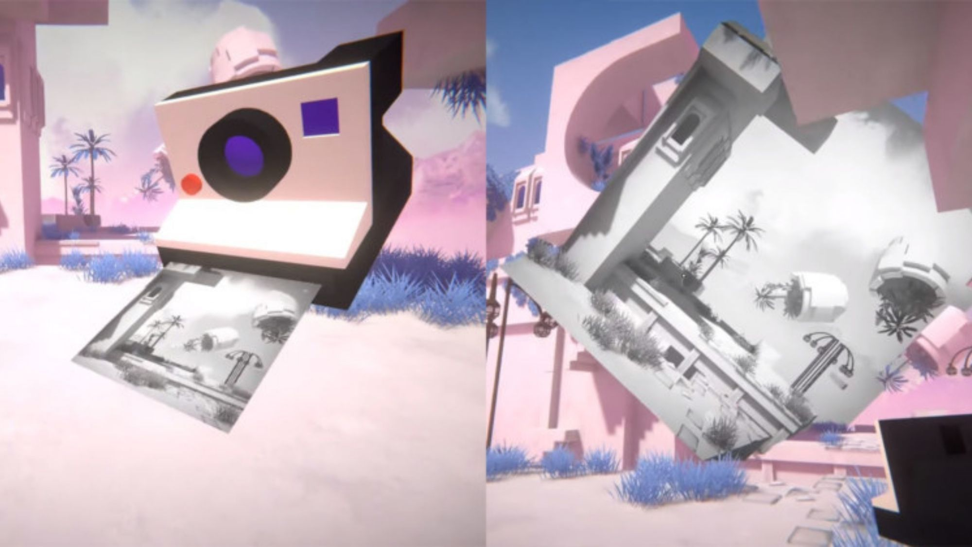 Viewfinder to use photos from instant camera for 3D puzzle environment