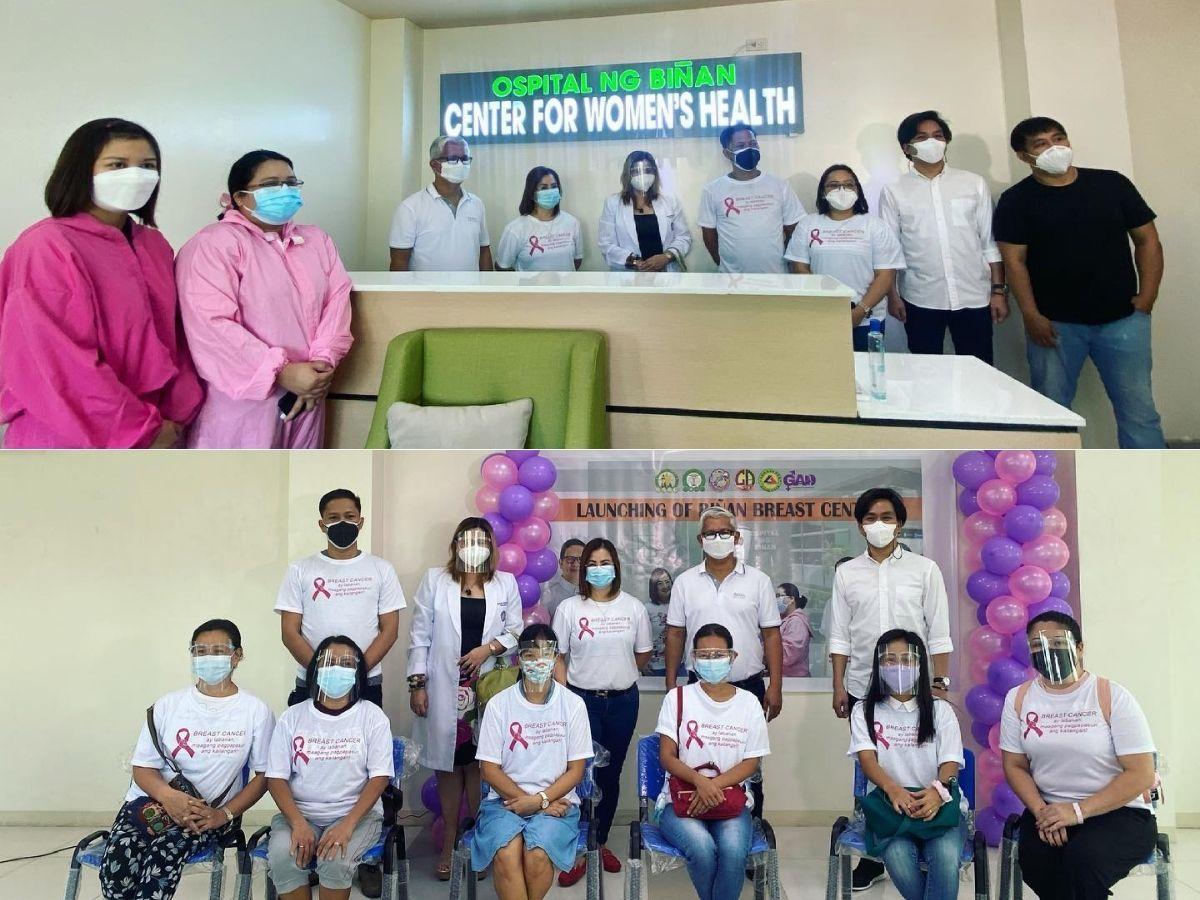 Biñan City LGU opens 'Breast Center'