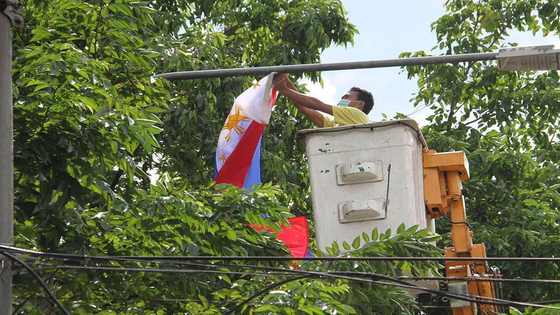 PREPARATIONS FOR INDEPENDENCE DAY