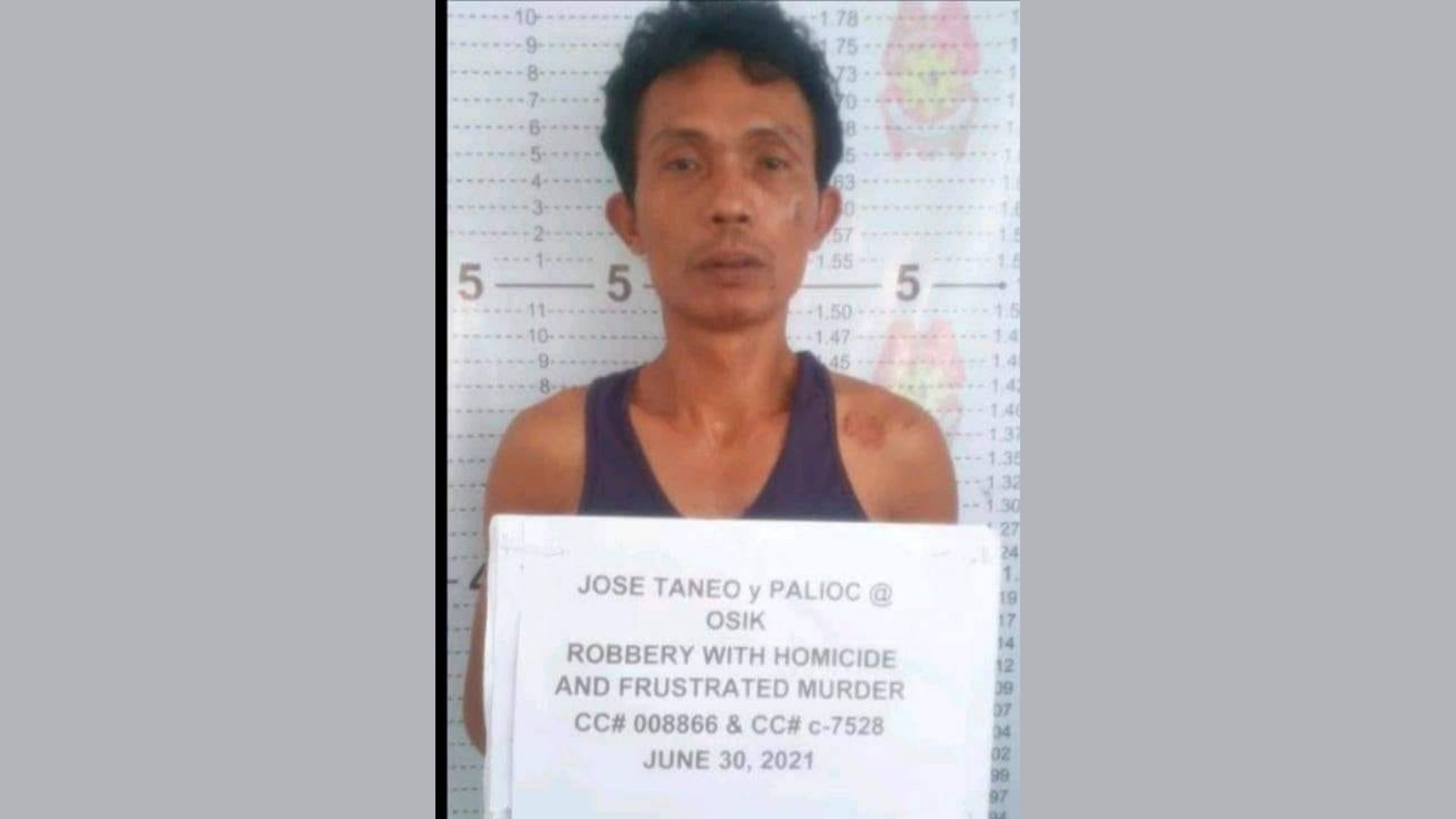 Private armed gang leader nabbed in Calbayog City photo from Eastern Visayas Without Borders, Facebook