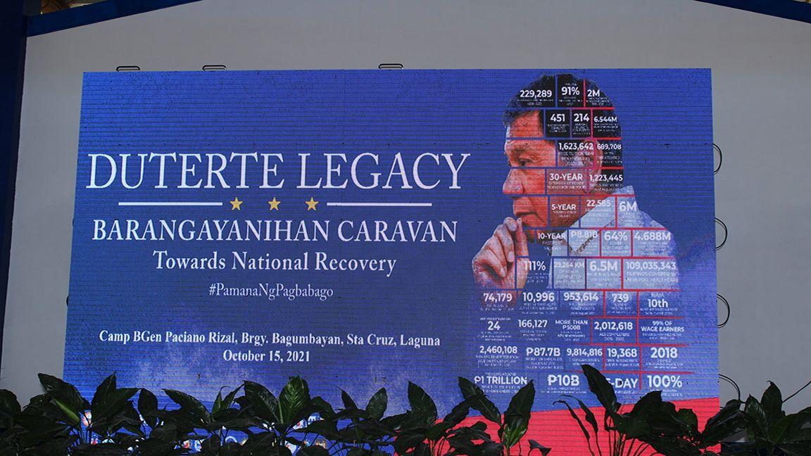 'Duterte legacy caravan' extends aid to 850 families in Laguna