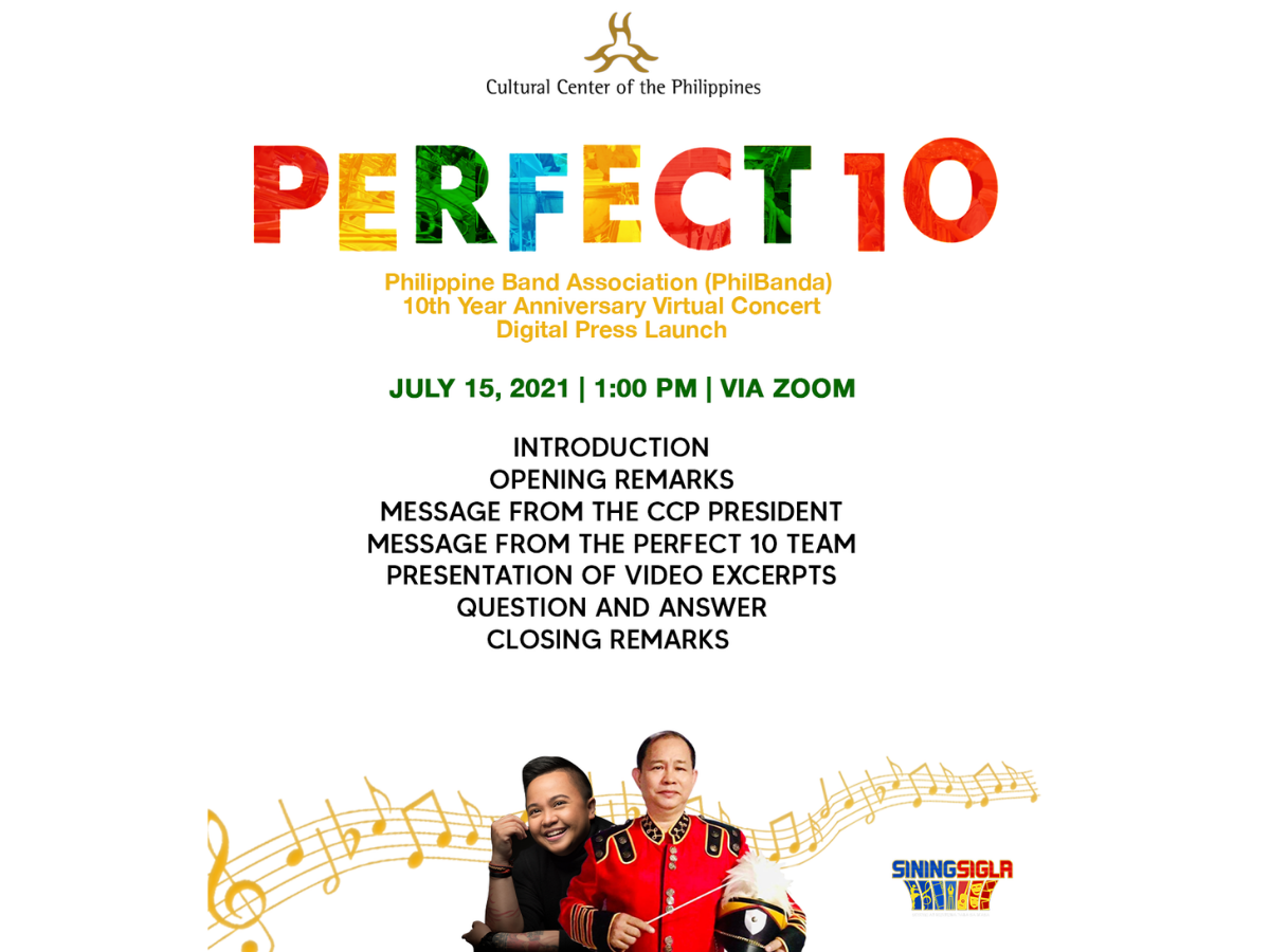 Philband Wind Orchestra poster