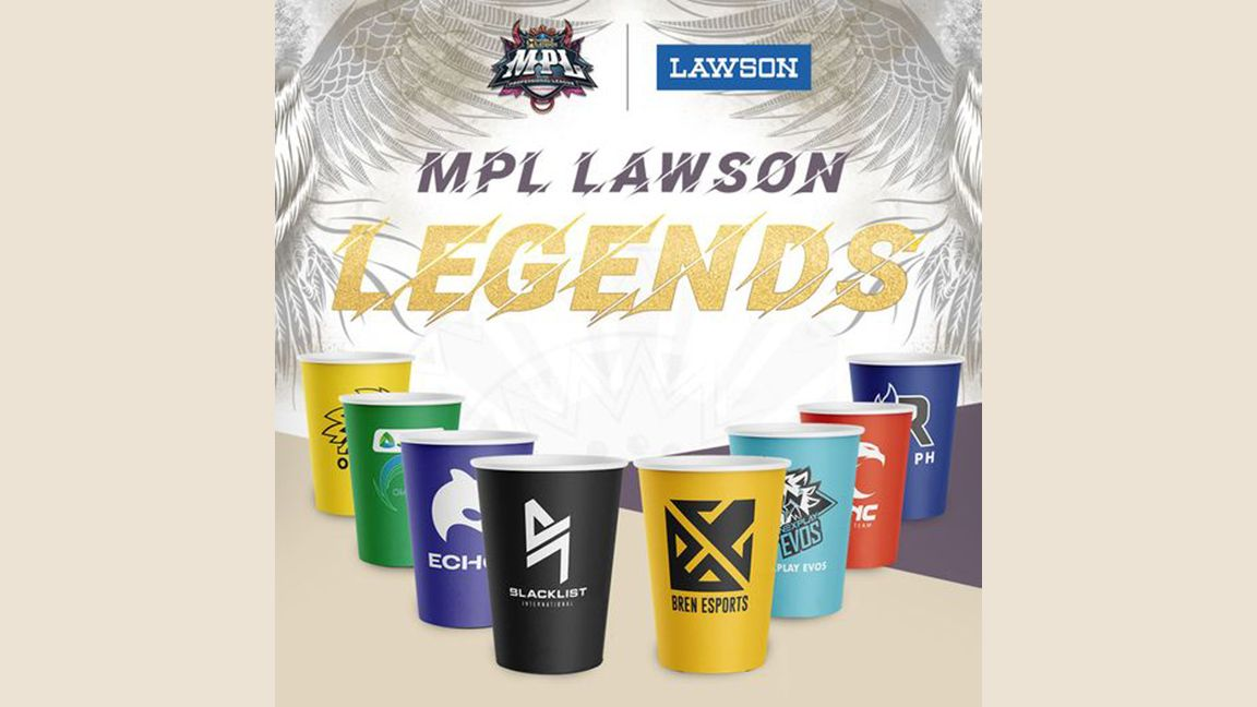 Support your local ML team with a drink from Lawson photo from Lawson Philippines