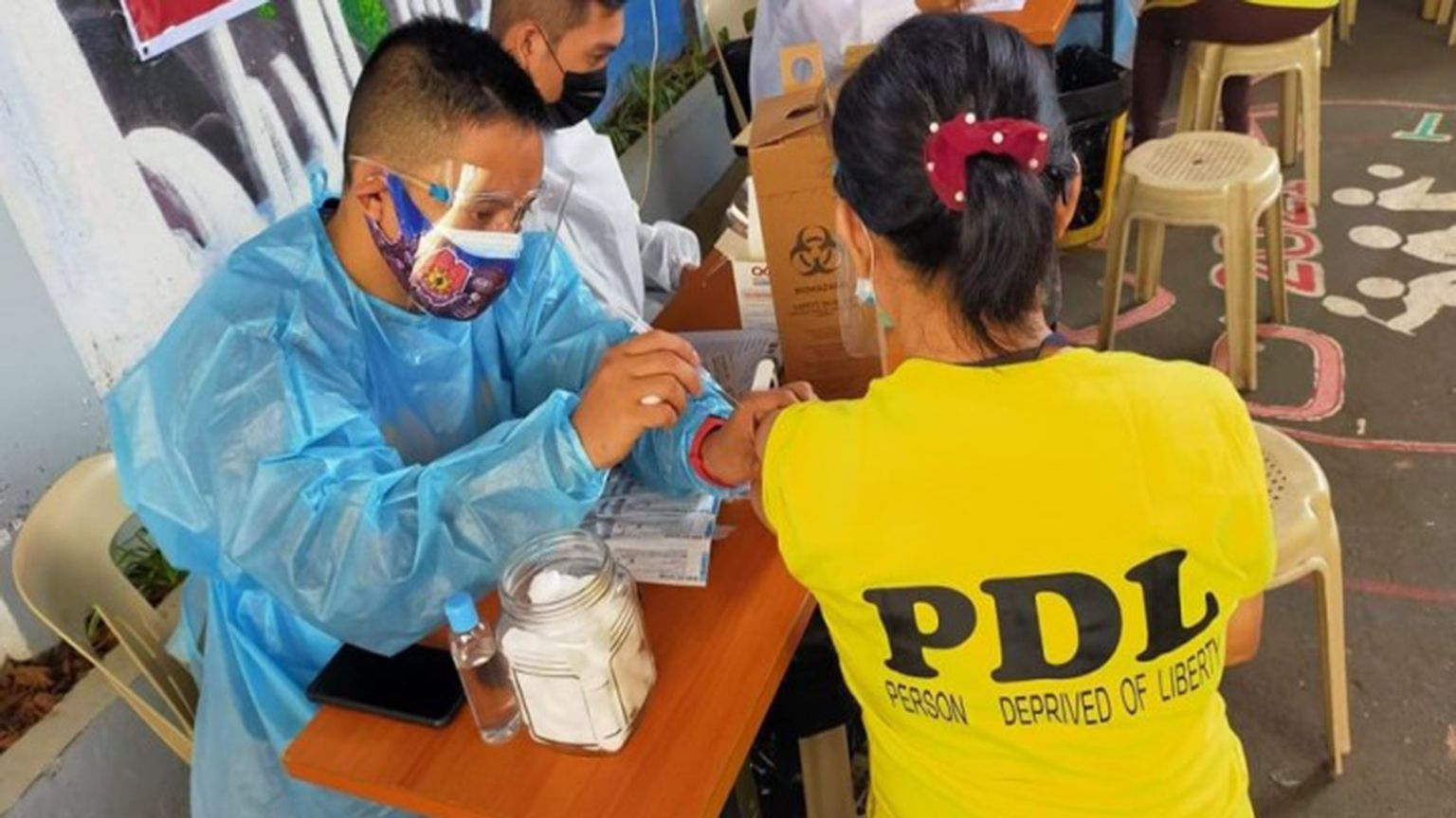 They need protection, too BJMP asks LGUs to include inmates in vax program photo from PNA