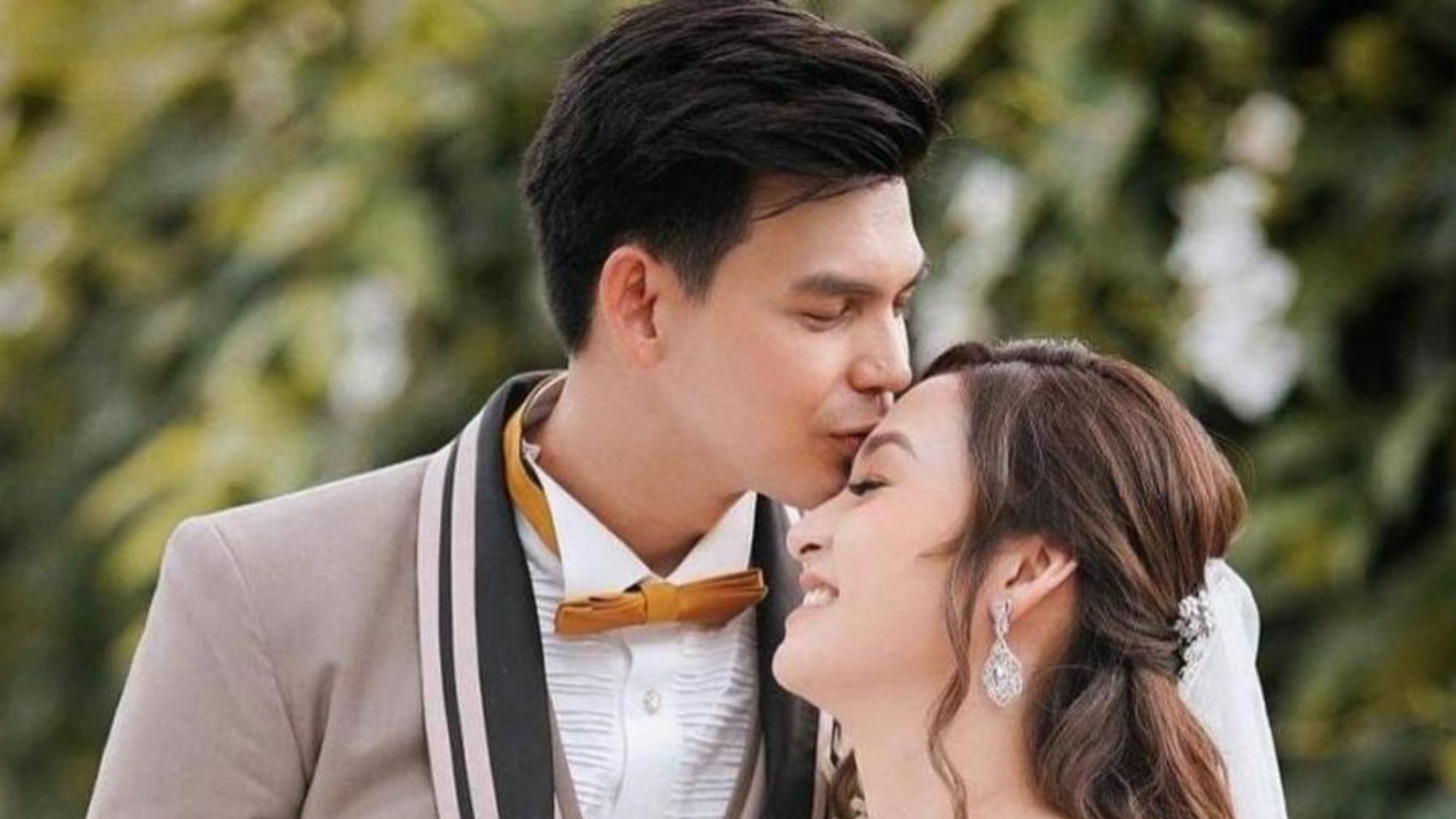 Actor Dion Ignacio finally brings non-showbiz girlfriend to the altar