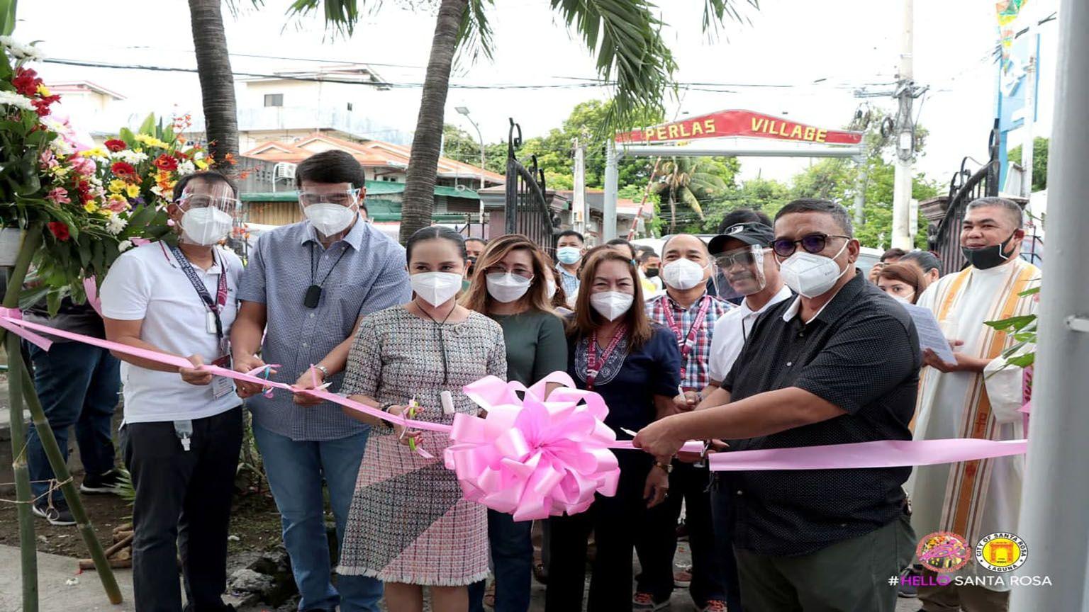 Sta. Rosa opens new development center building photo from City Government of Santa Rosa, Laguna