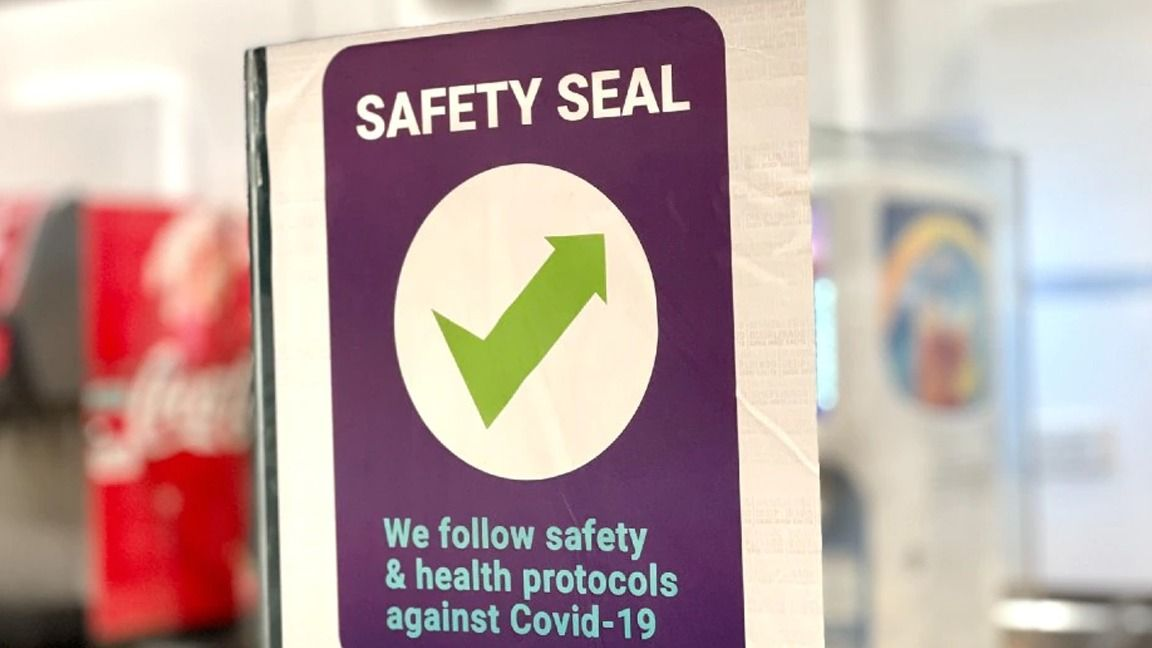 Guaranteeing employees' safety SMC, 110 more firms get safety seal photo from Remate