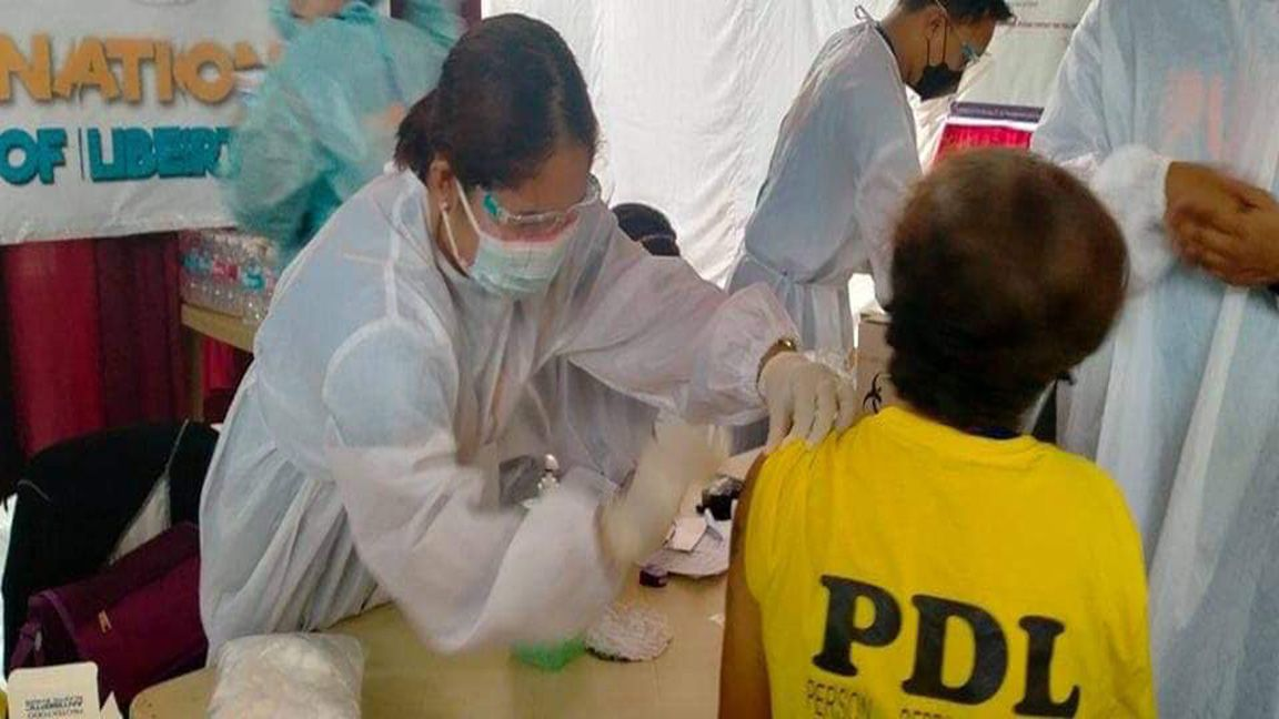 DILG 61.5% of PDLs received first dose of Covid-19 vaccine photo PTV News
