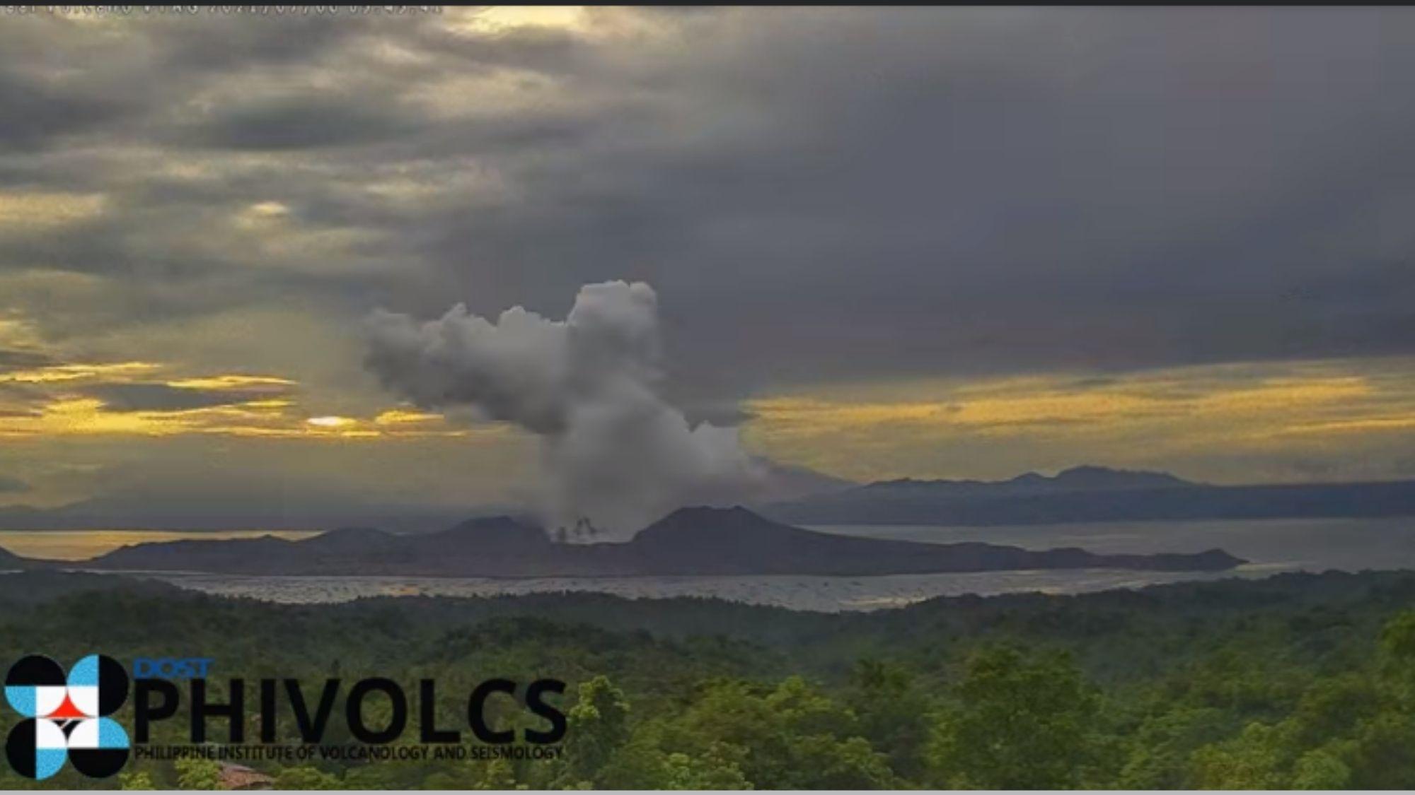 39 volcanic earthquakes, naramdaman sa paligid ng bulkang Taal