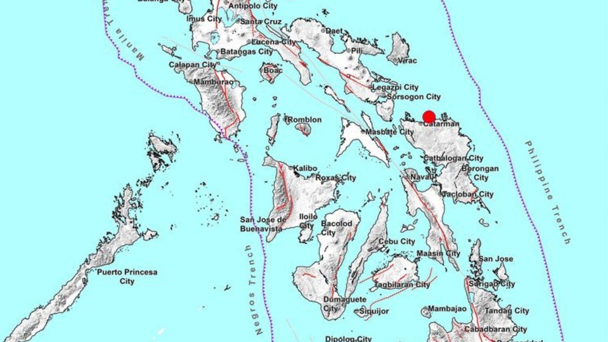 Earthquake hits E. Visayas