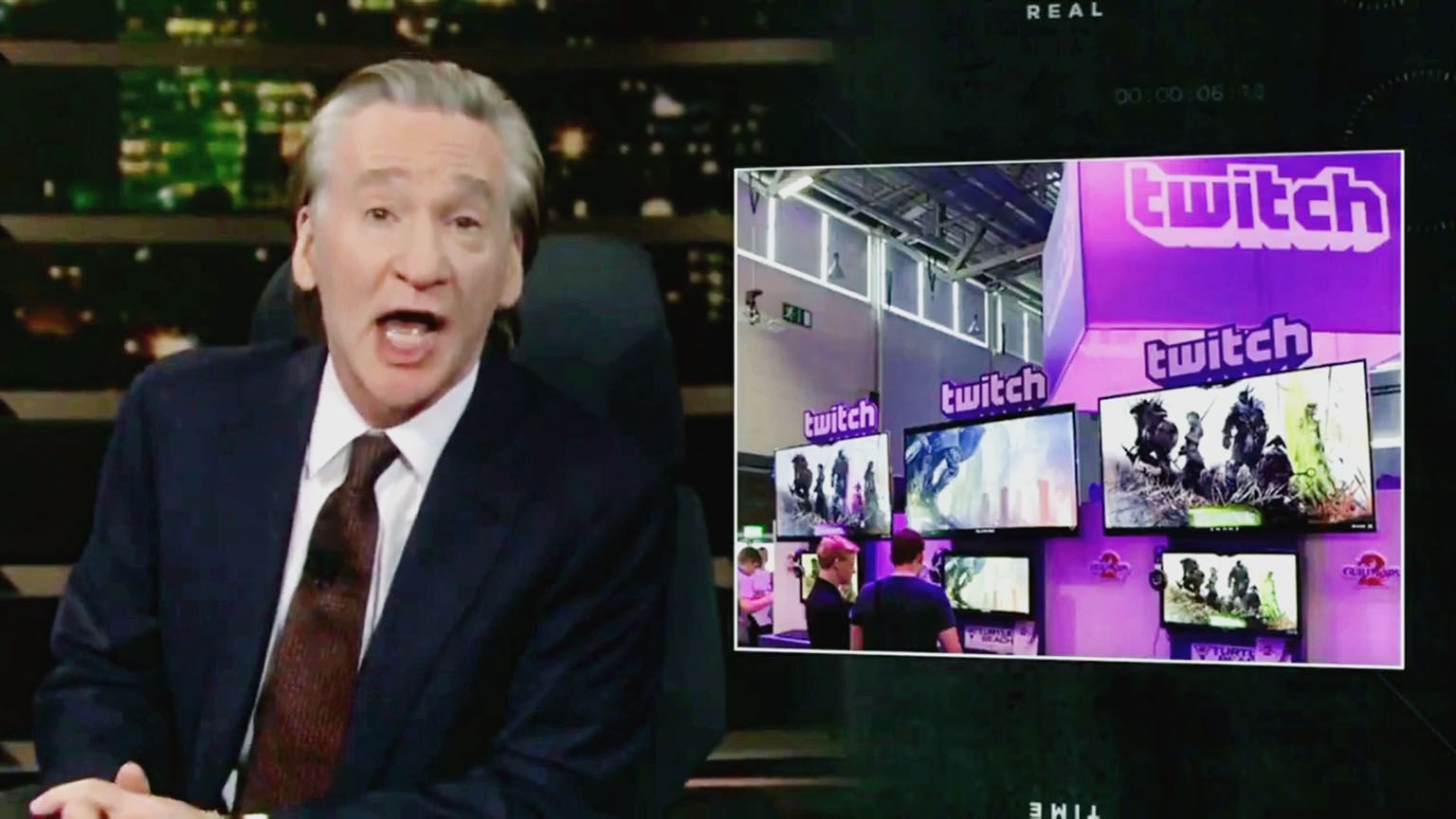 "TV show host under fire for calling Twitch ""a waste of time"""