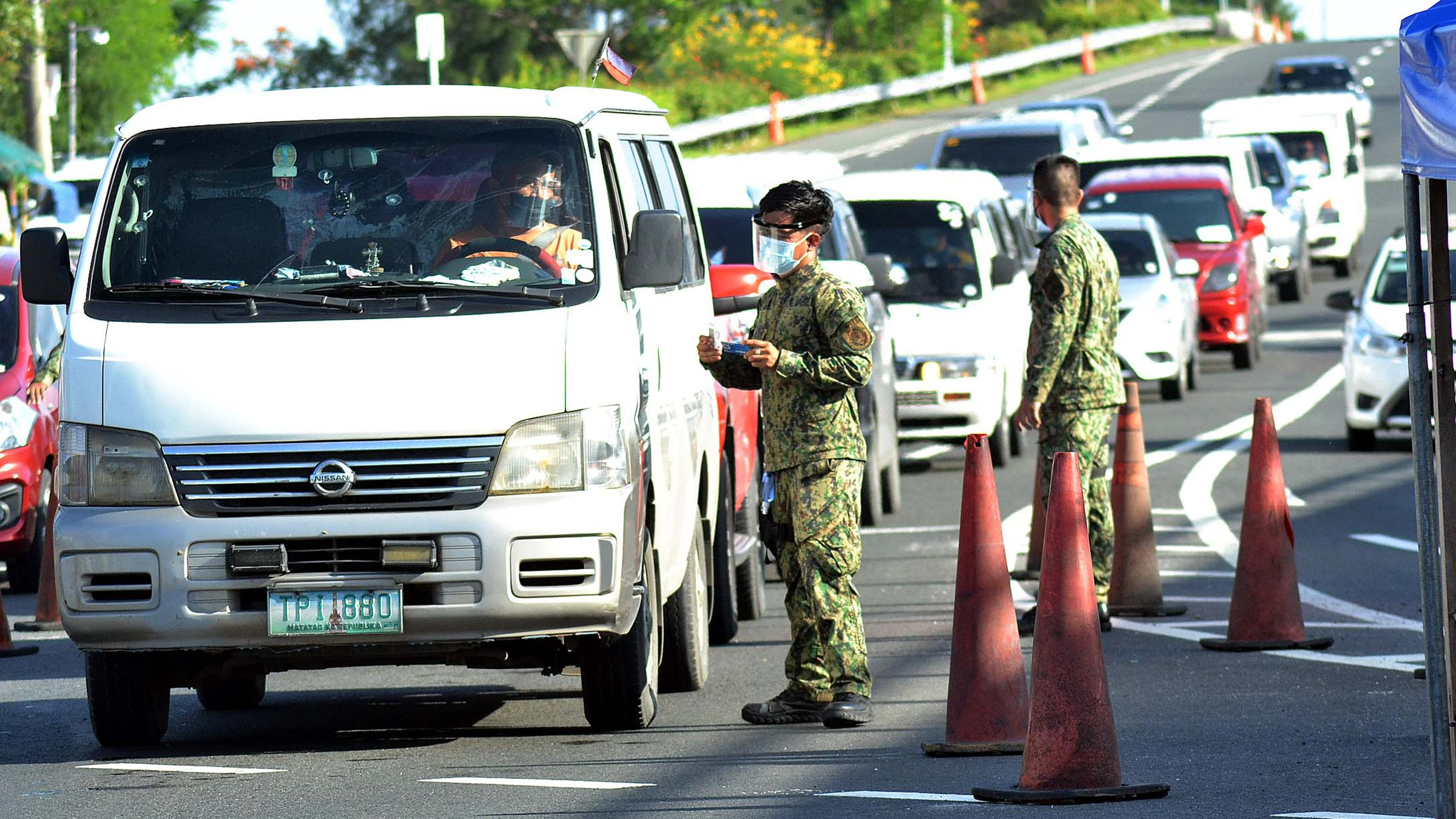 CHECKPOINTS EVERYWHERE photo  by Mike Taboy