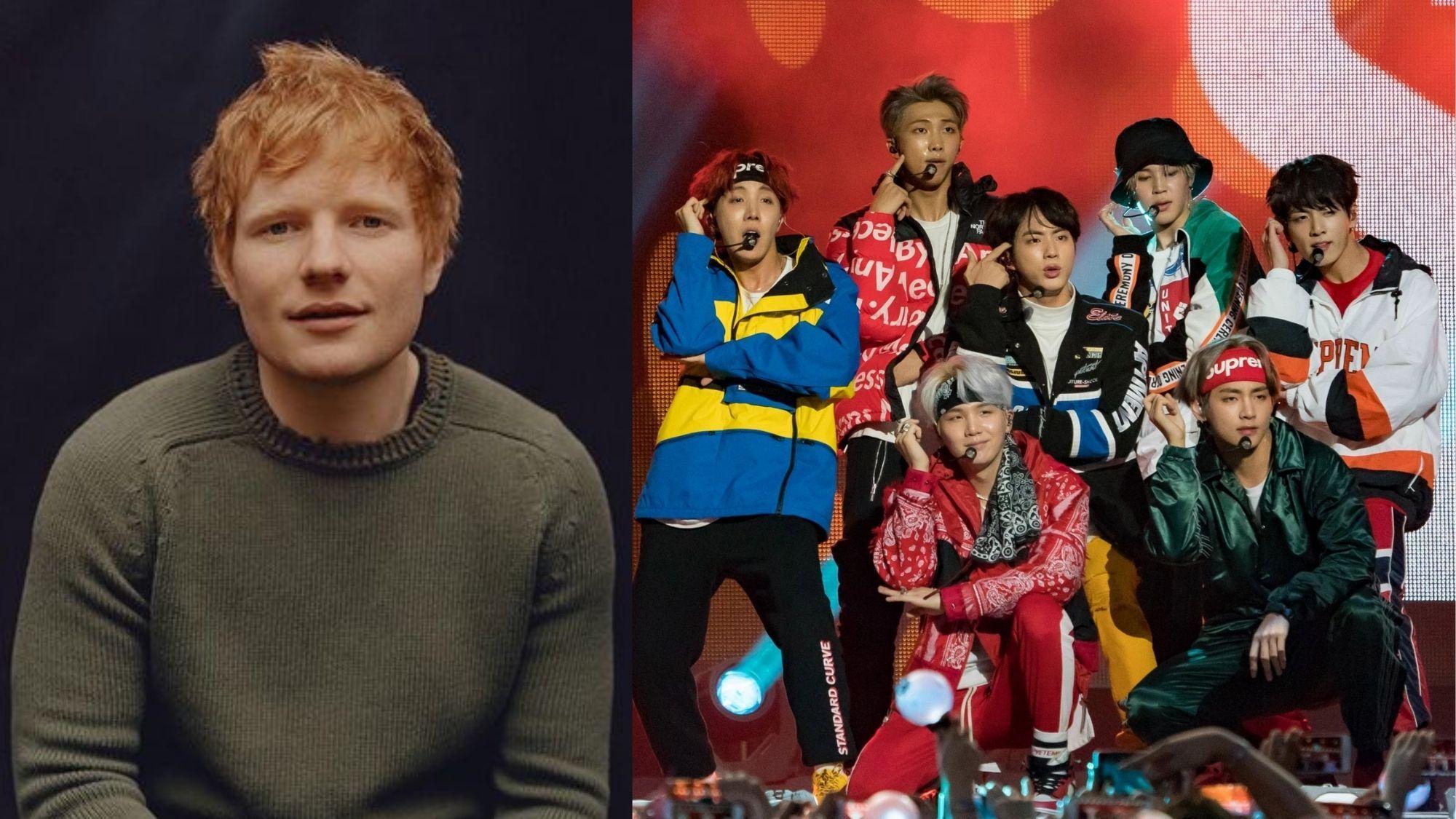 Ed Sheeran confirms another collab with KPop sensation BTS