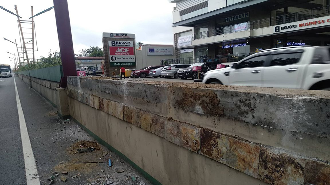 Mayor Sweet orders removal of expensive planter boxes of Tanauan