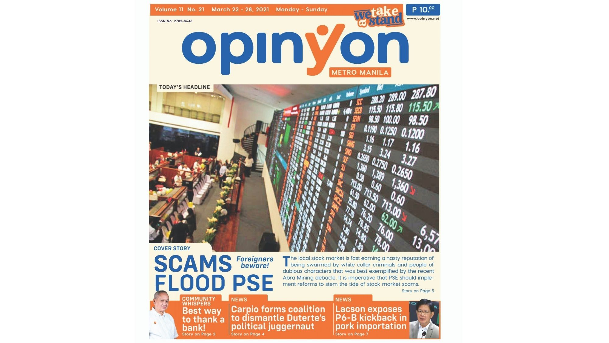 Scams Flood PSE Foreigners beware!