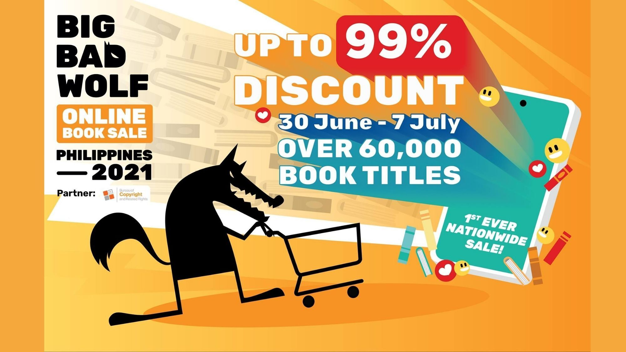 bookworms The Big Bad Wolf book sale is back